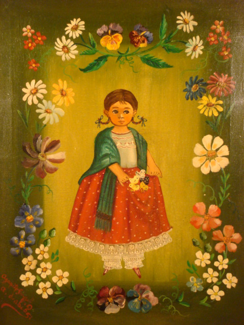 Vintage mexican folk art vintage mexican pottery mexican fine art